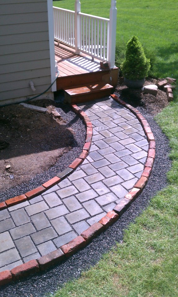 Permeable Walkway on a Deck Landing